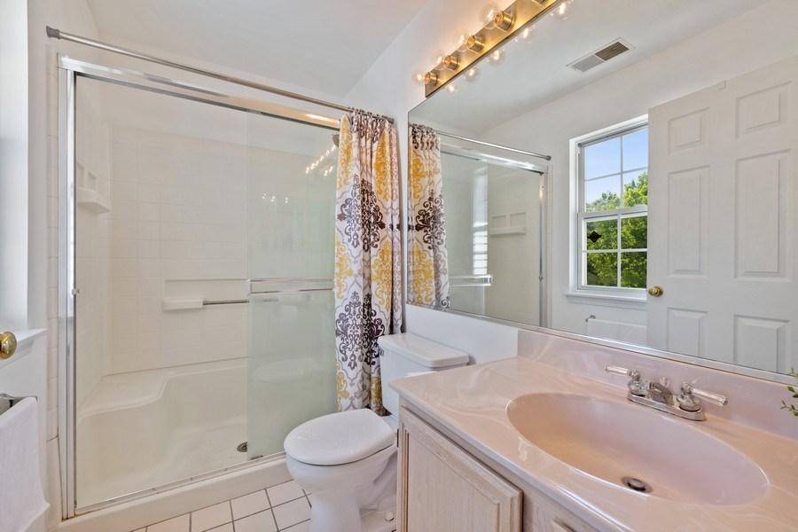 Real Estate Photography - 9010 W. Heathwood Circle, Niles, IL, 60714 - Master Bathroom