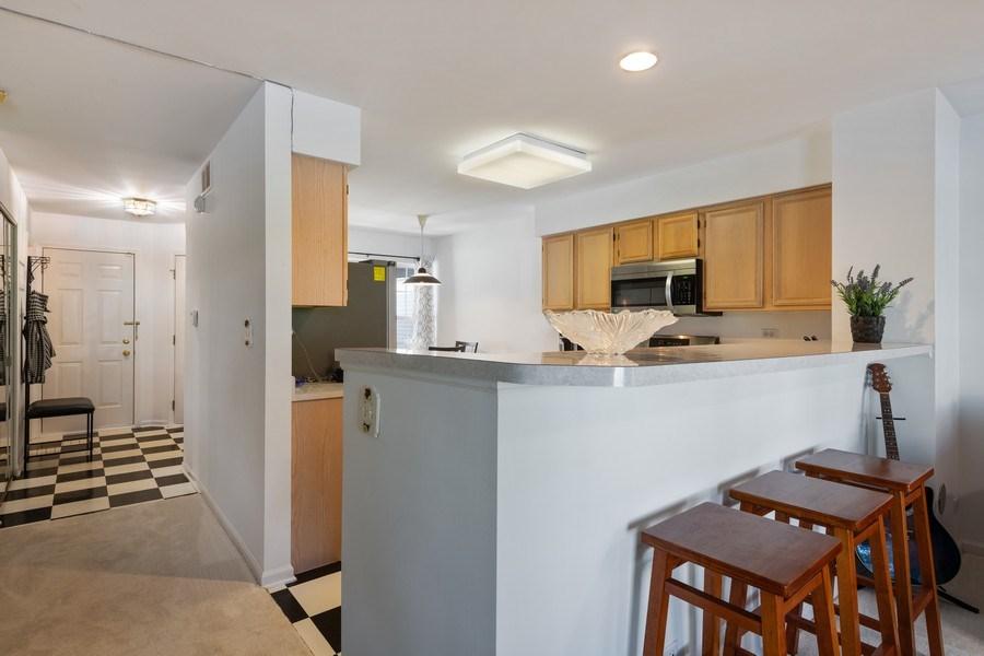 Real Estate Photography - 9010 W. Heathwood Circle, Niles, IL, 60714 - Kitchen