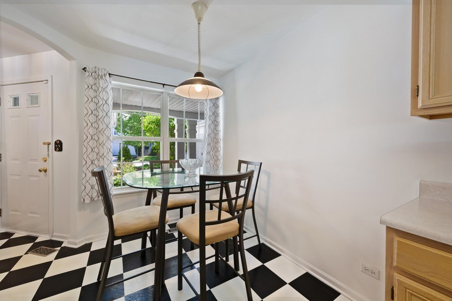 Real Estate Photography - 9010 W. Heathwood Circle, Niles, IL, 60714 - Dining Area