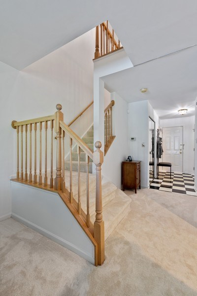 Real Estate Photography - 9010 W. Heathwood Circle, Niles, IL, 60714 - Staircase