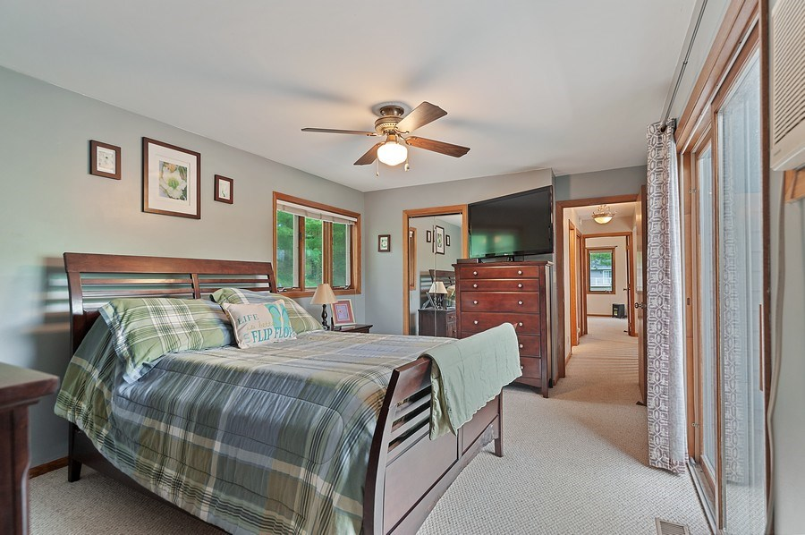 Real Estate Photography - 25990 W. Wilson Road, Antioch, IL, 60002 - Master Bedroom