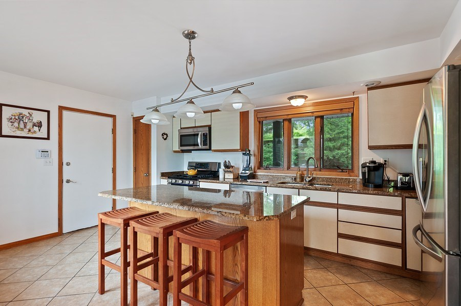 Real Estate Photography - 25990 W. Wilson Road, Antioch, IL, 60002 - Kitchen