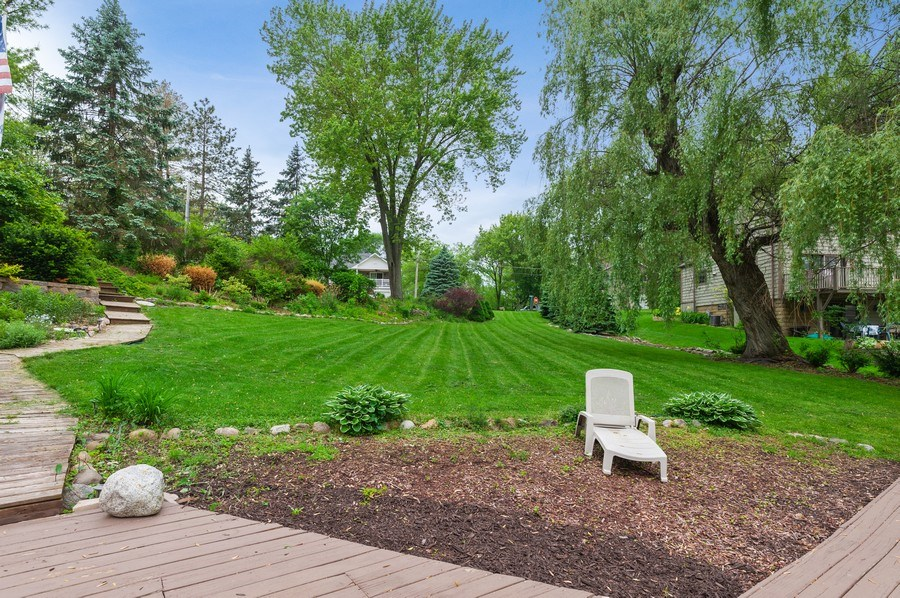 Real Estate Photography - 25990 W. Wilson Road, Antioch, IL, 60002 - Side Yard