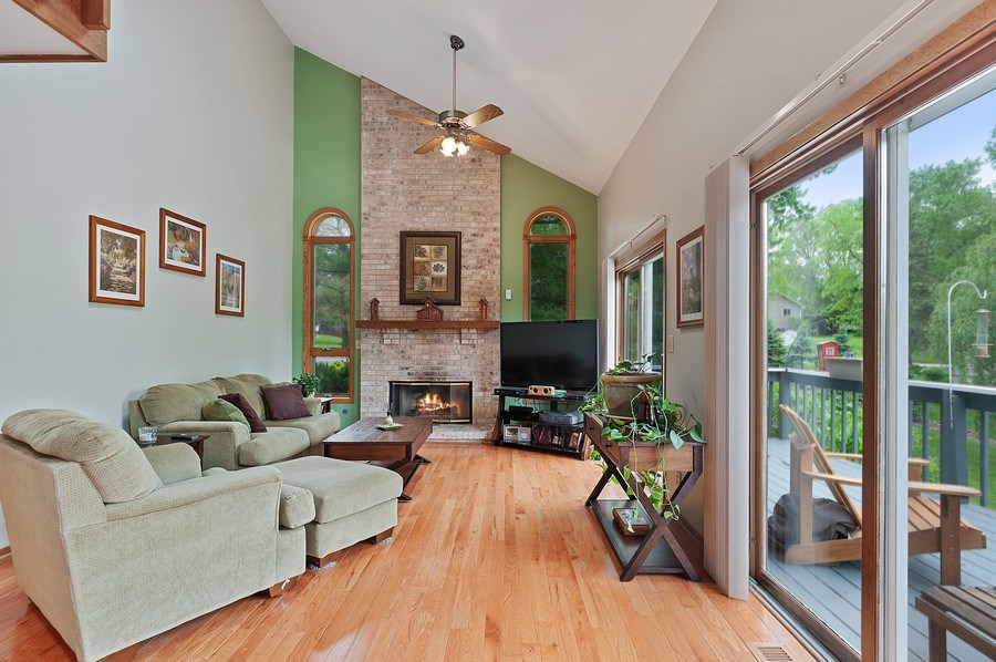 Real Estate Photography - 25990 W. Wilson Road, Antioch, IL, 60002 - Family Room