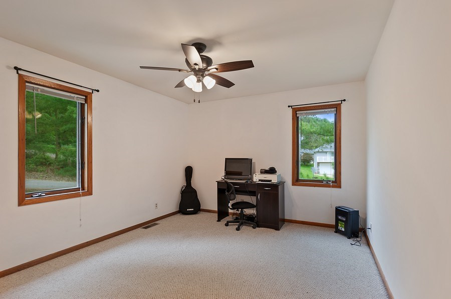 Real Estate Photography - 25990 W. Wilson Road, Antioch, IL, 60002 - Office