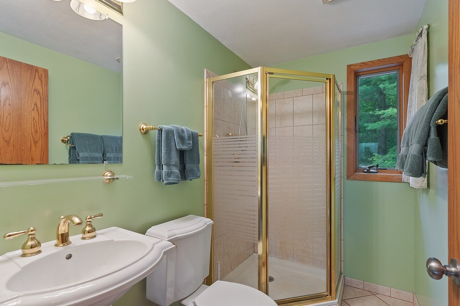 Real Estate Photography - 25990 W. Wilson Road, Antioch, IL, 60002 - 2nd Bathroom