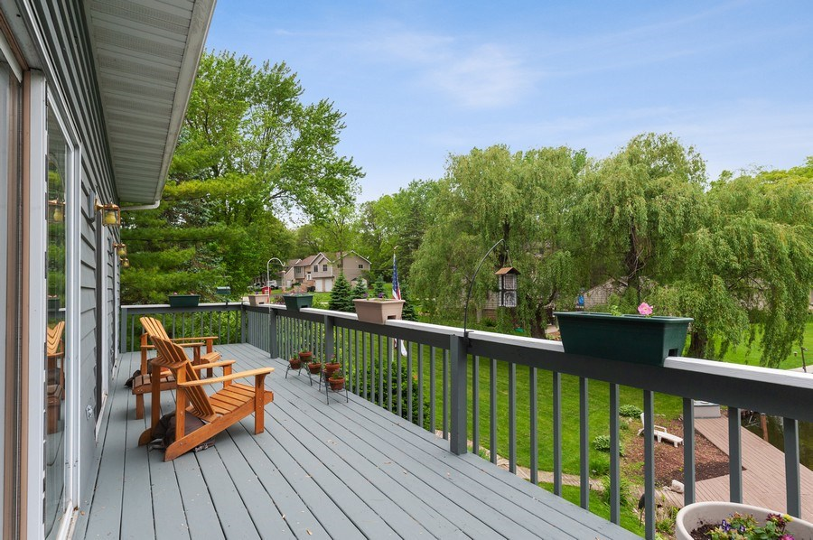 Real Estate Photography - 25990 W. Wilson Road, Antioch, IL, 60002 - Balcony