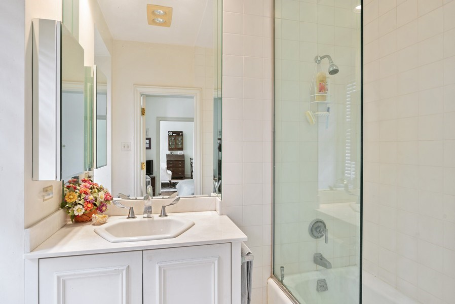 Real Estate Photography - 70 E. Cedar Street, Unit 1402, Chicago, IL, 60611 - Master Bathroom