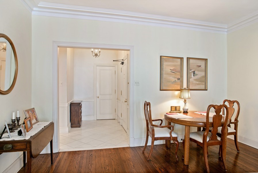Real Estate Photography - 70 E. Cedar Street, Unit 1402, Chicago, IL, 60611 - Dining Room