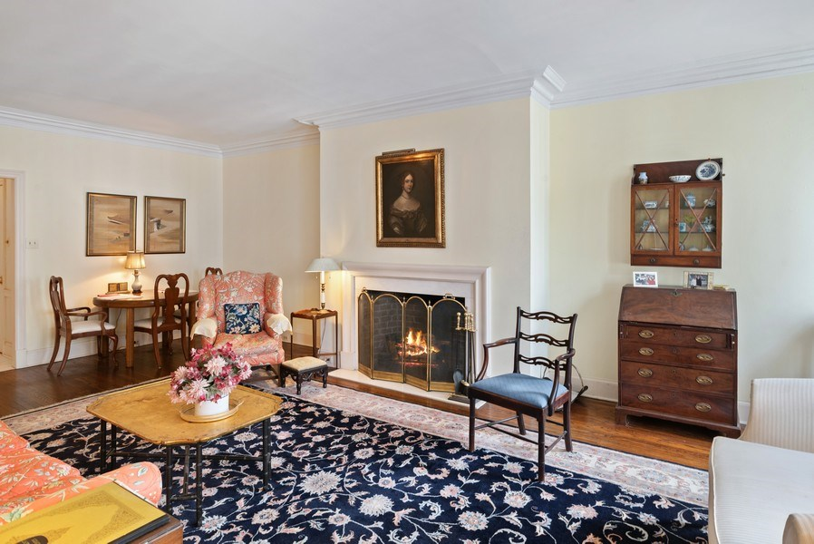 Real Estate Photography - 70 E. Cedar Street, Unit 1402, Chicago, IL, 60611 - Living Room/Dining Room