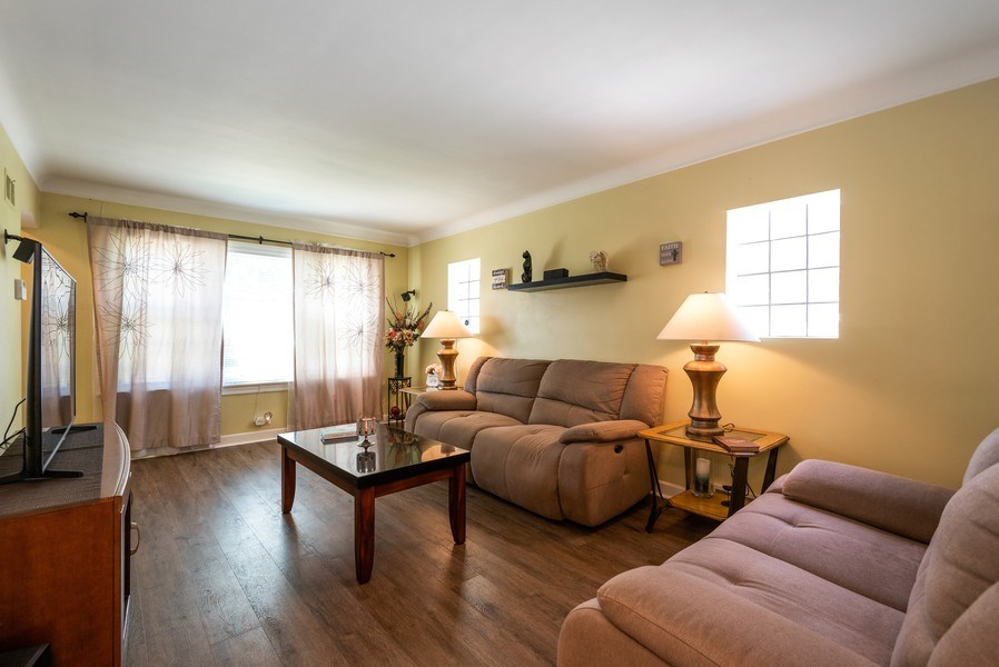 Real Estate Photography - 5457 N. NORDICA Avenue, Chicago, IL, 60656 - Living Room