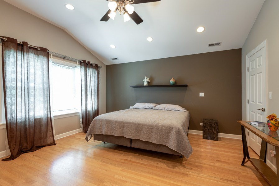 Real Estate Photography - 5457 N. NORDICA Avenue, Chicago, IL, 60656 - Master Bedroom