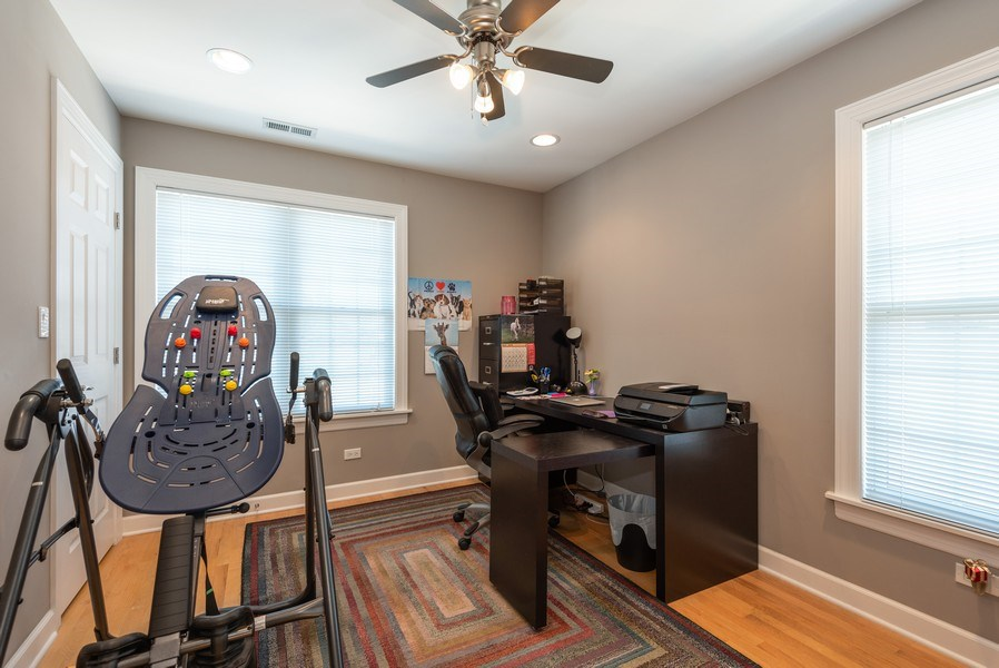 Real Estate Photography - 5457 N. NORDICA Avenue, Chicago, IL, 60656 - Bedroom 4 Second Floor