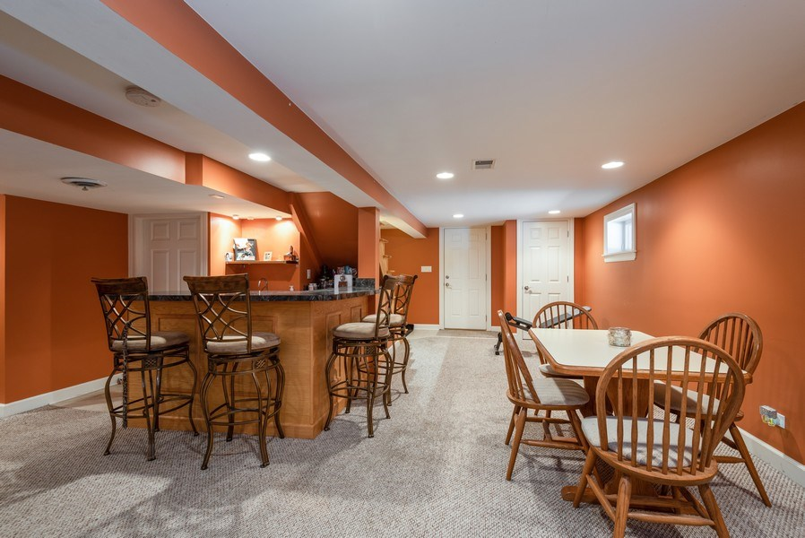 Real Estate Photography - 5457 N. NORDICA Avenue, Chicago, IL, 60656 - Basement Rec Room View 3