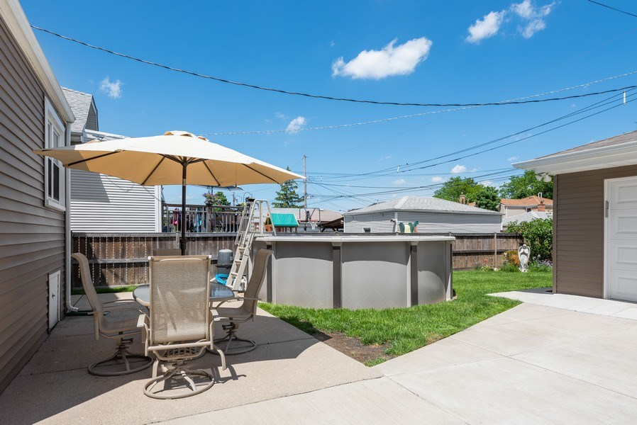 Real Estate Photography - 5457 N. NORDICA Avenue, Chicago, IL, 60656 - Back Yard