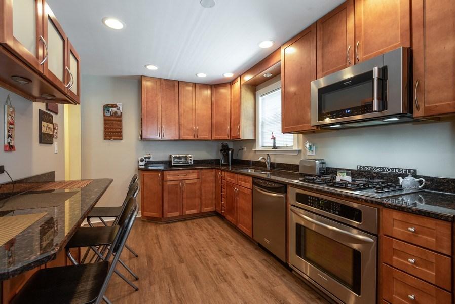 Real Estate Photography - 5457 N. NORDICA Avenue, Chicago, IL, 60656 - Kitchen
