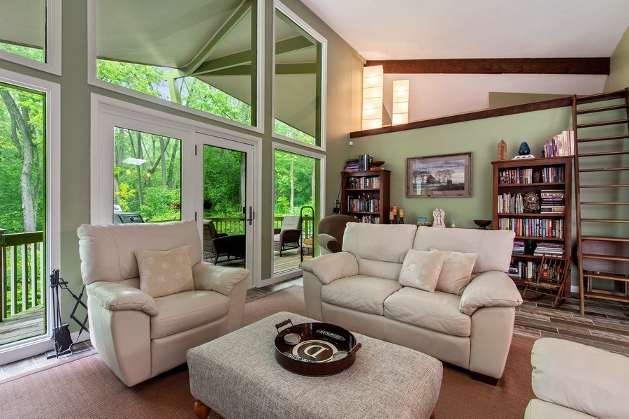 Real Estate Photography - 35560 N. Us Highway 12, Ingleside, IL, 60041 - Living Room