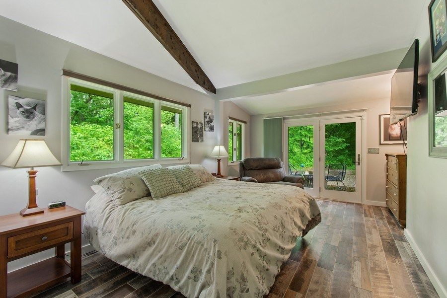 Real Estate Photography - 35560 N. Us Highway 12, Ingleside, IL, 60041 - Master Bedroom