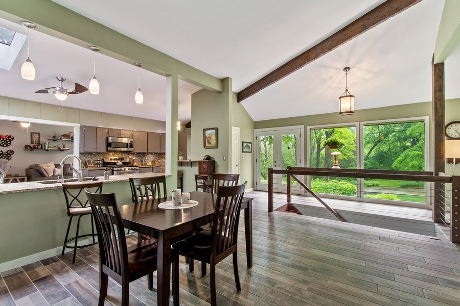 Real Estate Photography - 35560 N. Us Highway 12, Ingleside, IL, 60041 - Dining Area