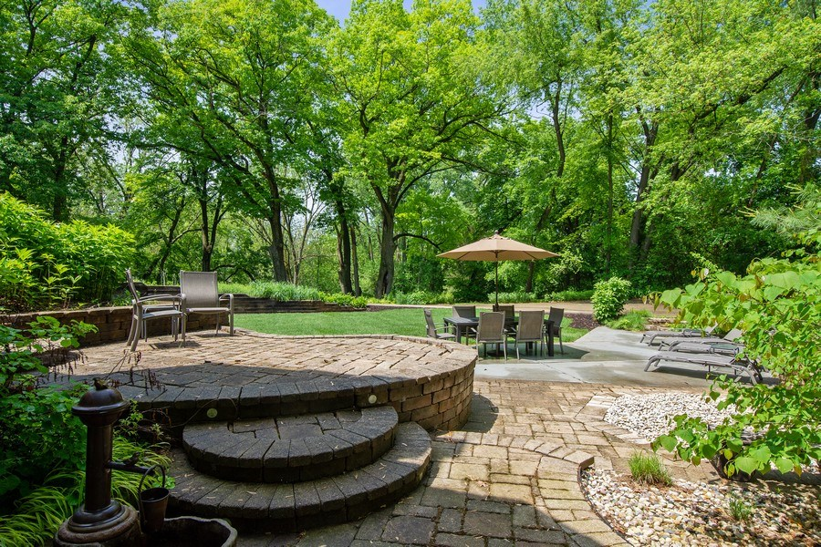 Real Estate Photography - 35560 N. Us Highway 12, Ingleside, IL, 60041 - Patio