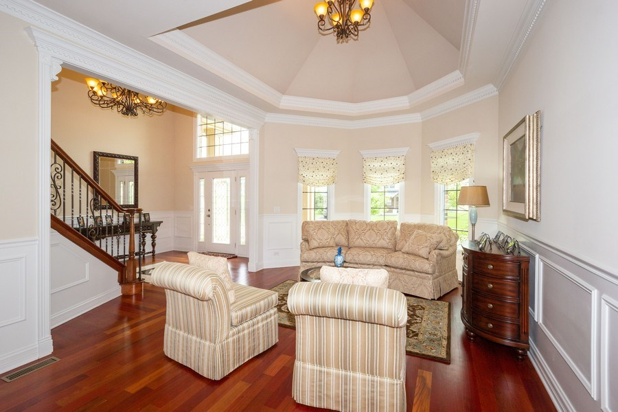 Real Estate Photography - 12900 Peppertree Drive, Plainfield, IL, 60585 - Living Room