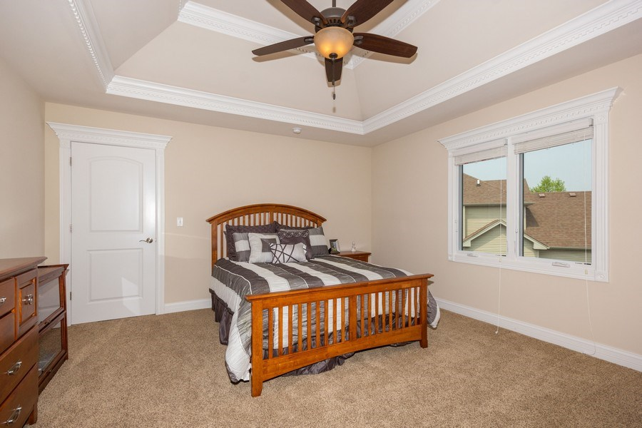 Real Estate Photography - 12900 Peppertree Drive, Plainfield, IL, 60585 - 3rd bedroom
