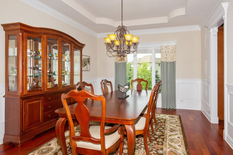 Real Estate Photography - 12900 Peppertree Drive, Plainfield, IL, 60585 - Dining Room