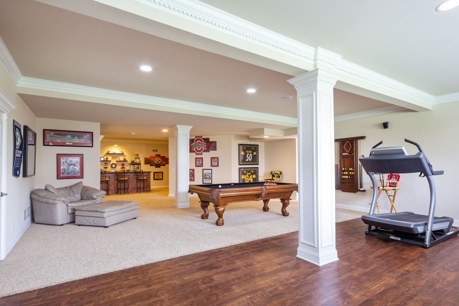 Real Estate Photography - 12900 Peppertree Drive, Plainfield, IL, 60585 - Basement