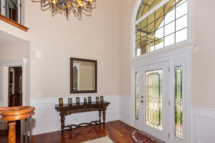 Real Estate Photography - 12900 Peppertree Drive, Plainfield, IL, 60585 - Foyer