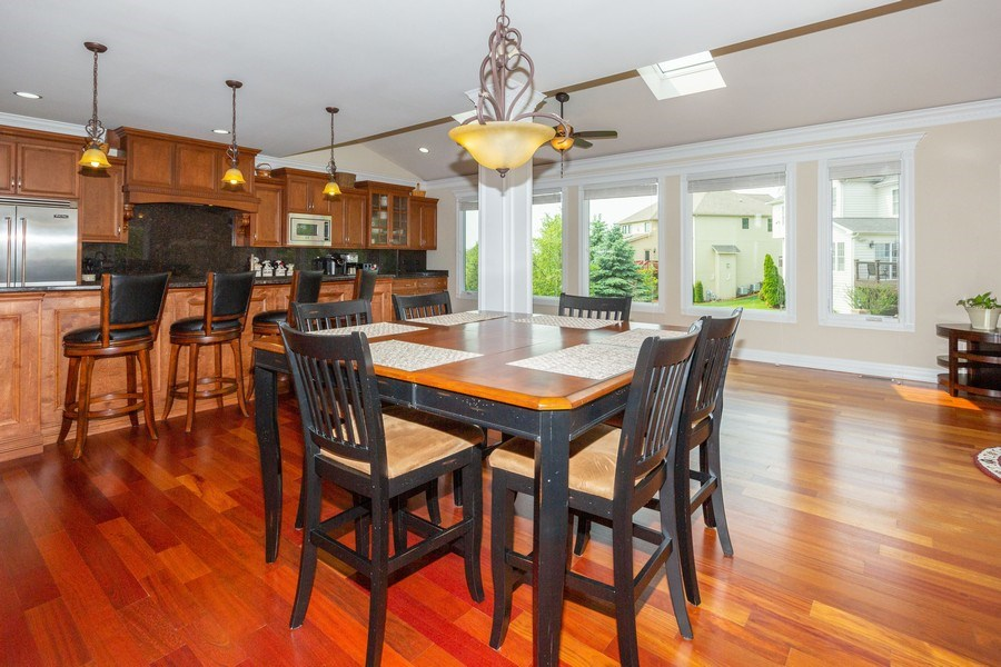 Real Estate Photography - 12900 Peppertree Drive, Plainfield, IL, 60585 - Breakfast Area