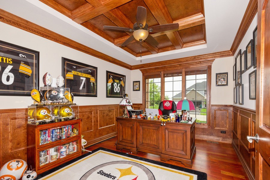 Real Estate Photography - 12900 Peppertree Drive, Plainfield, IL, 60585 - Office
