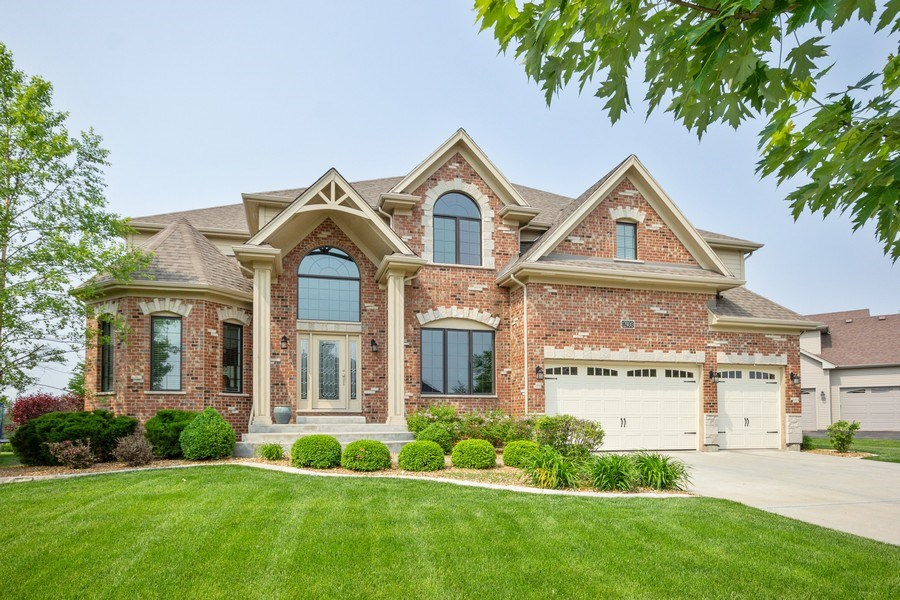 Real Estate Photography - 12900 Peppertree Drive, Plainfield, IL, 60585 - Front View