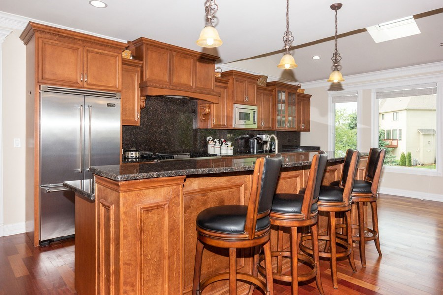 Real Estate Photography - 12900 Peppertree Drive, Plainfield, IL, 60585 - Kitchen