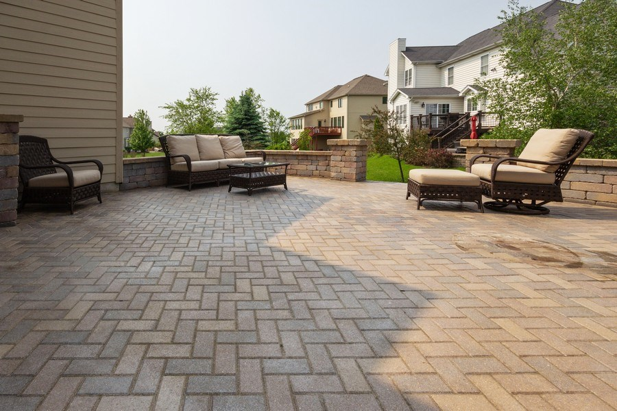 Real Estate Photography - 12900 Peppertree Drive, Plainfield, IL, 60585 - Patio