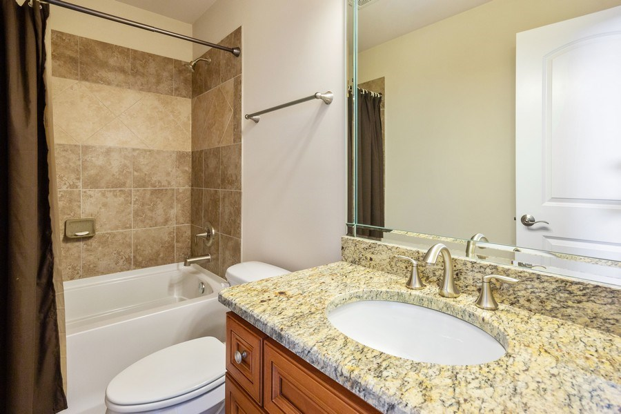 Real Estate Photography - 12900 Peppertree Drive, Plainfield, IL, 60585 - 2nd Bathroom