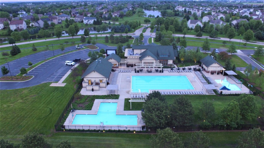 Real Estate Photography - 12900 Peppertree Drive, Plainfield, IL, 60585 - Aquatic center