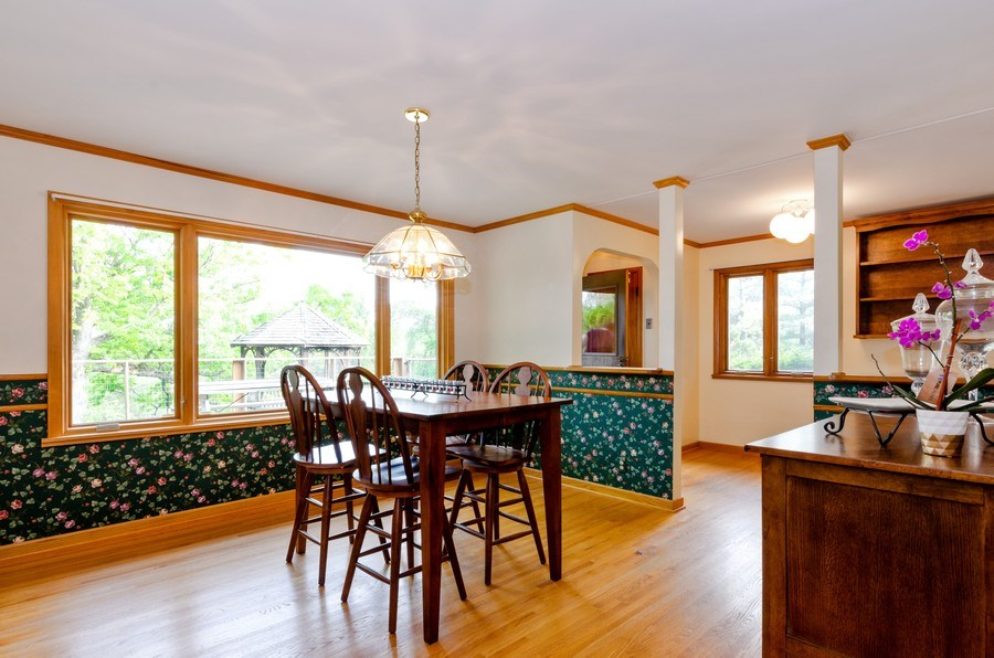 Real Estate Photography - 18N525 WOODCREST Lane, West Dundee, IL, 60118 - Dining Room