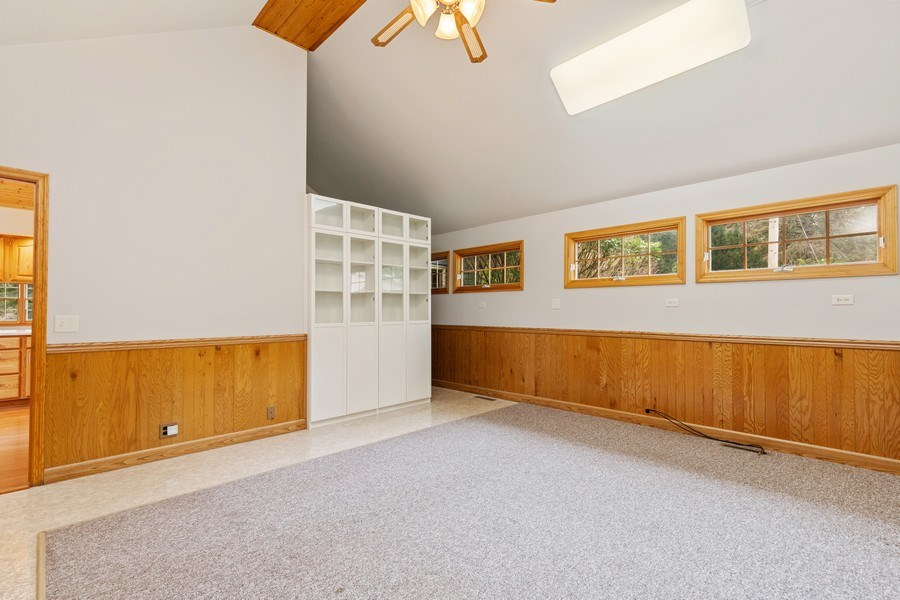 Real Estate Photography - 34925 North James Ave, Ingleside, IL, 60041 - Family Room