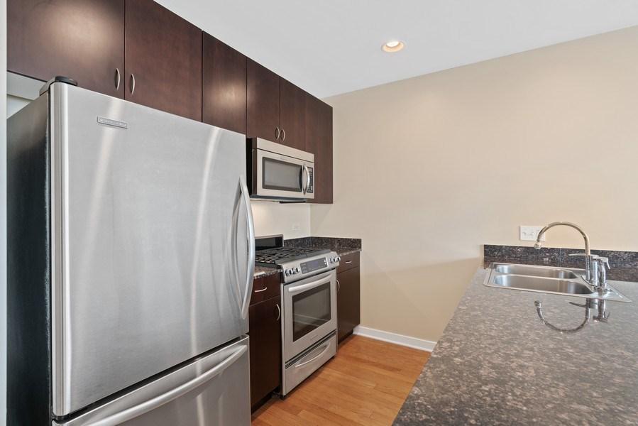 Real Estate Photography - 303 W. Ohio Street, Unit 3005, Chicago, IL, 60654 - Kitchen
