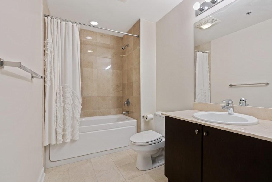 Real Estate Photography - 303 W. Ohio Street, Unit 3005, Chicago, IL, 60654 - Bathroom