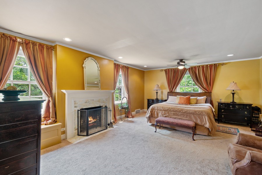 Real Estate Photography - 10615 S. Seeley Avenue, Chicago, IL, 60643 - Master Bedroom