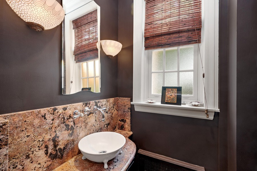 Real Estate Photography - 10615 S. Seeley Avenue, Chicago, IL, 60643 - Powder Room