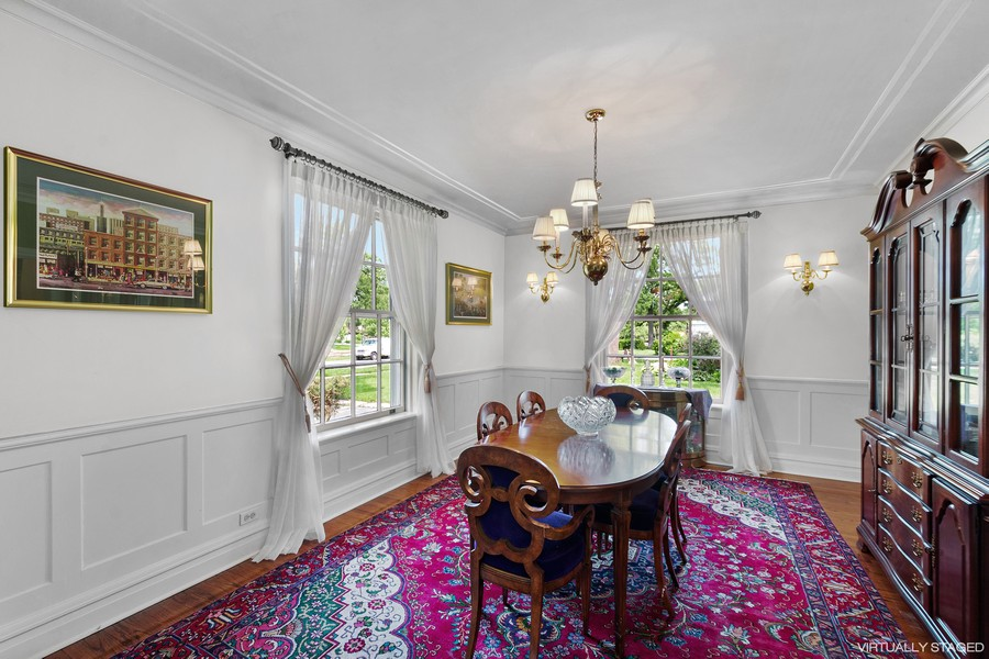 Real Estate Photography - 10615 S. Seeley Avenue, Chicago, IL, 60643 - Dining Room