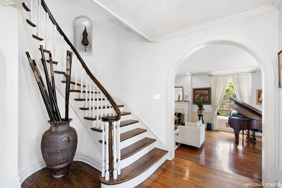 Real Estate Photography - 10615 S. Seeley Avenue, Chicago, IL, 60643 - Staircase