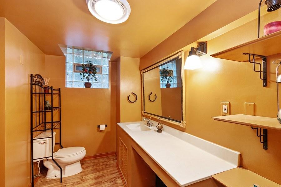 Real Estate Photography - 10615 S. Seeley Avenue, Chicago, IL, 60643 - Half Bath