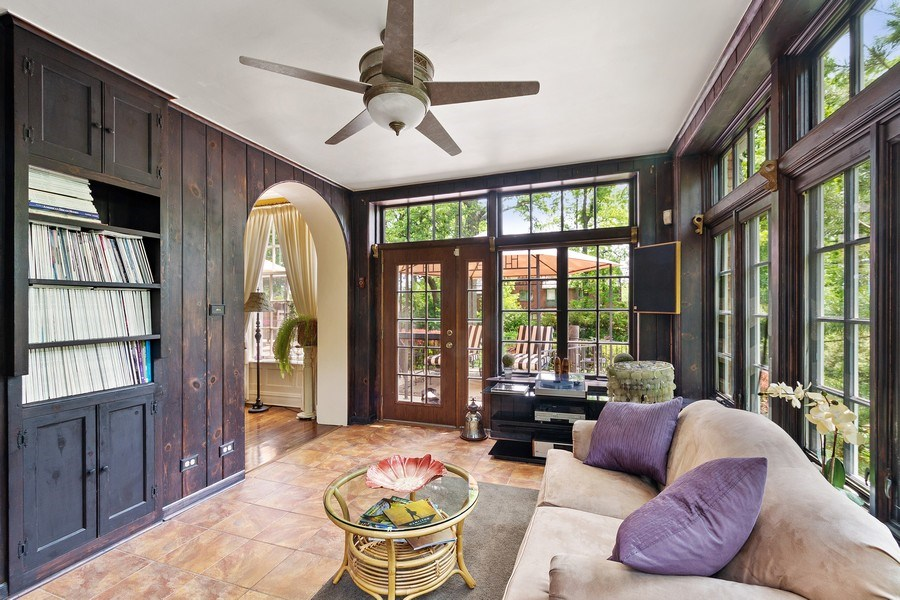 Real Estate Photography - 10615 S. Seeley Avenue, Chicago, IL, 60643 - Sun Room