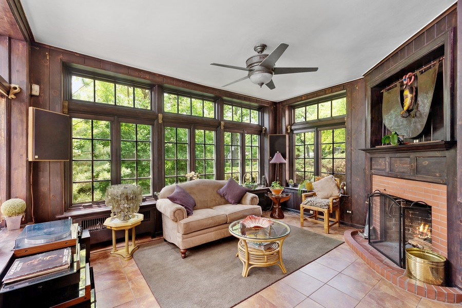 Real Estate Photography - 10615 S. Seeley Avenue, Chicago, IL, 60643 - Sunroom
