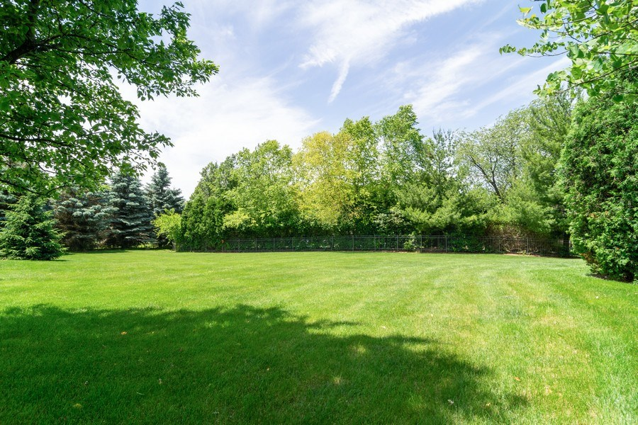 Real Estate Photography - 39W085 DEAN Lane, St. Charles, IL, 60175 - Back Yard