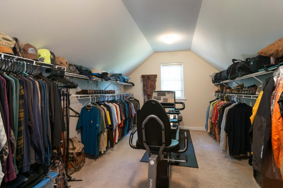 Real Estate Photography - 39W085 DEAN Lane, St. Charles, IL, 60175 - Master Bedroom Closet