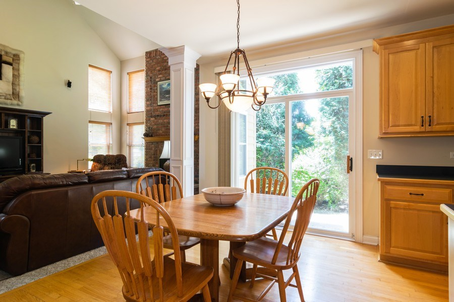 Real Estate Photography - 39W085 DEAN Lane, St. Charles, IL, 60175 - Breakfast Nook